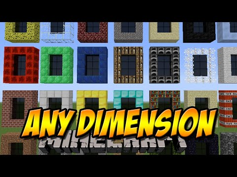 37 NEUE DIMENSIONEN   Any Dimension Mod   Minecraft Mod Review [DEUTSCH]