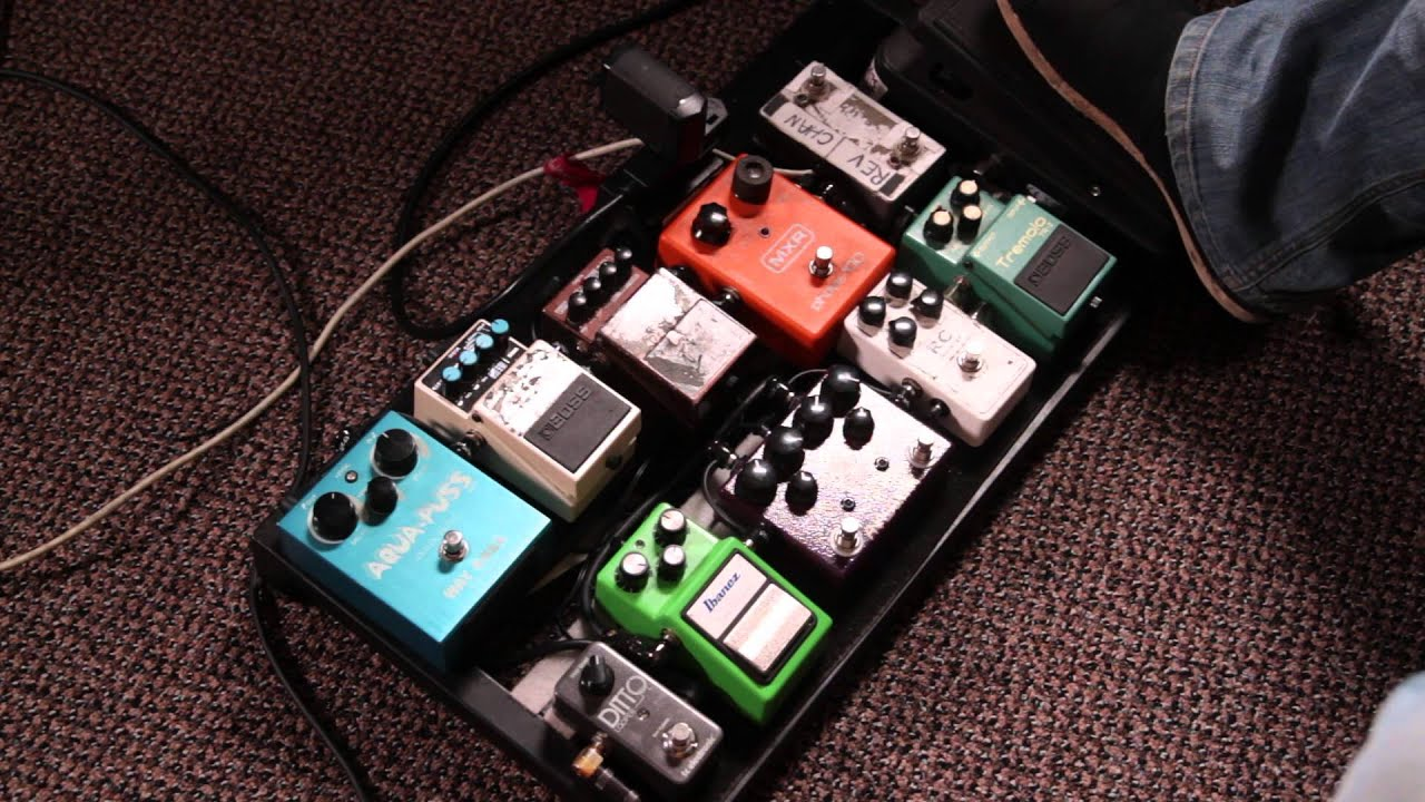 Guitar Pedals Board Guitar Effects Pedal Boards