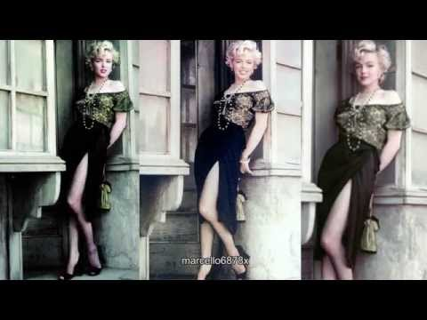Memories of Marilyn Monroe -  The Sexy Gipsy sitting by Fashion Photographer Milton Greene
