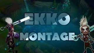 A very balanced EKKO KILL COMPILATION Montage - League of Legends