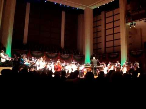 ... with the North Carolina Symphony in Winston-Salem NC November 14, 2011.