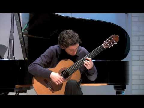 Agustin Barrios Mangore - Villancico de Navidad - Christopher Evesham