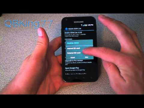 Video: How to Install a Custom Recovery on Samsung Epic 4G Touch FI27/FL24