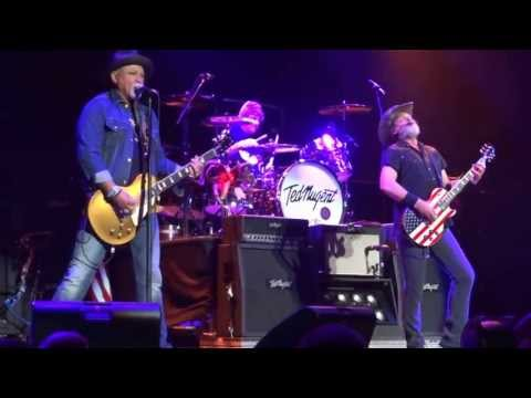 Ted Nugent - Hey Baby w/ My Girl & Johnny B. Goode (5/15/2013) Evansville, IN