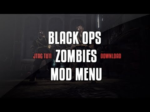Black Ops Zombies Mod Menu JTAG TU11/Download