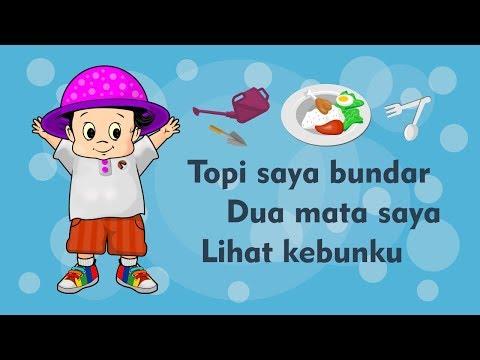 download lagu Topi Saya Bundar - Dua Mata Saya - Lihat Kebunku - Kumpulan Lagu Anak Indonesia Populer