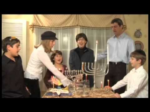 Chanukah Candle Blessings • First Night
