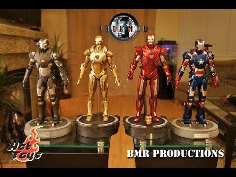 Hot Toys - Iron Man 3 - Mark XXXIII Silver Centurion Figure Review