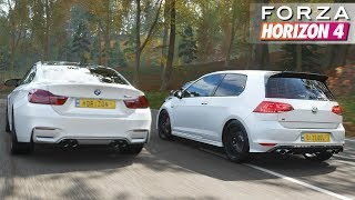 Forza Horizon 4 - Volkswagen Golf 7 R | Gameplay