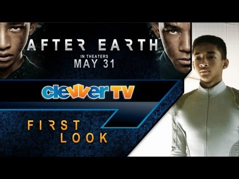 'After Earth' First Look with Jaden Smith & Will Smith