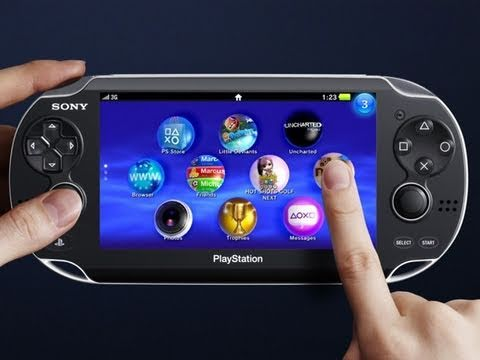 Gizmo – Sony NGP First Look – PS Vita