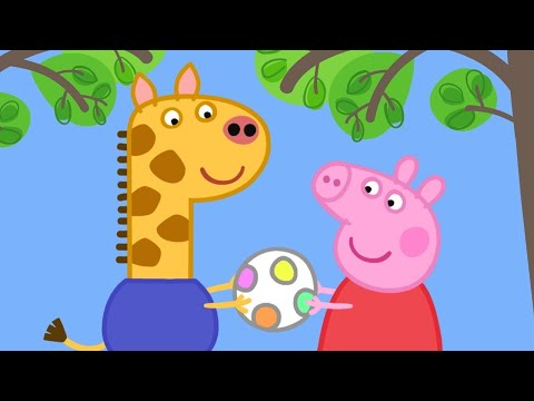 Cartoons für Kinder - Peppa trifft Gerald Giraffe! - Peppa Wutz Neue Folgen