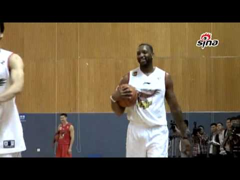 Tracy McGrady TMac Practices with Qingdao Eagles
