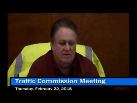 LIVE: Traffic Commission Meeting
