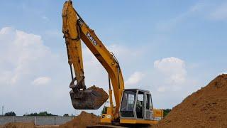Máy Xúc Đất KATO Làm Việc |  Máy Xúc Đất Nhạc Thiếu Nhi Sôi Động 2019 | Excavator #19