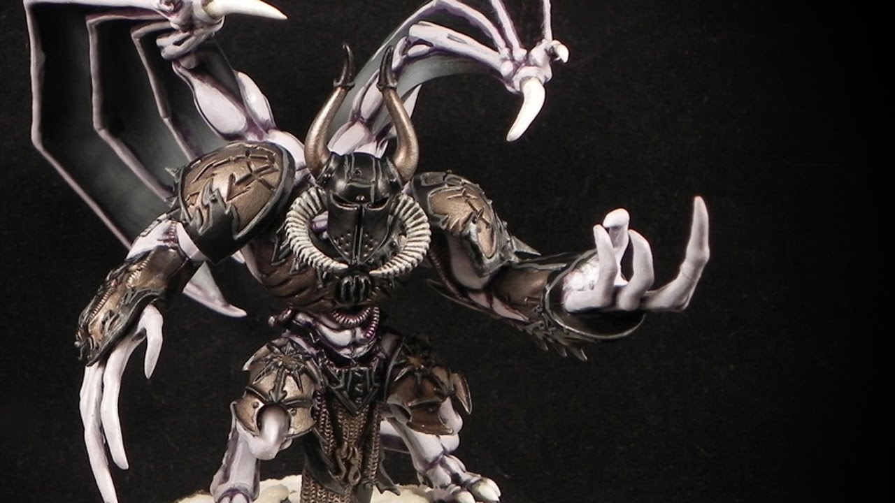 Daemon Prince of Slaanesh Daemon Prince of Slaanesh