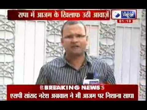 India News: Muzaffarnagar riots divide SP, Azam Khan faces heat for skipping meet