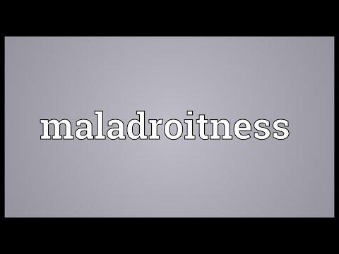 Header of maladroitness