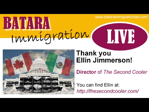 Ellin Jimmerman on Batara Immigration LIVE 8.27.14