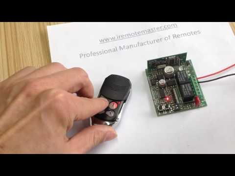 BFT mitto Replacement remote programing