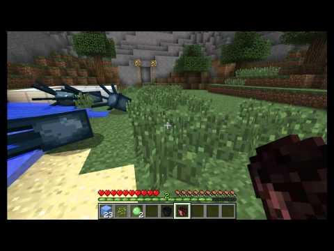 Minecraft - Mod Reviews [NL] Ep.1 (Diamond Buckets)