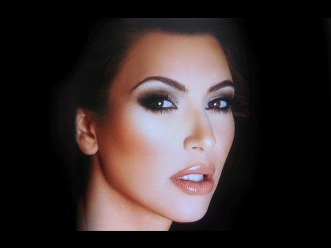 KIM KARDASHIAN - FACE TO FACE - SMOKEY EYE TUTORIAL