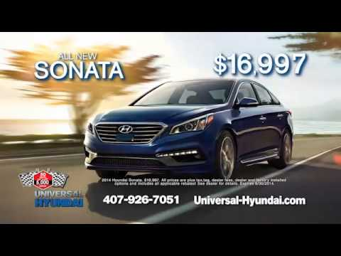 Universal Hyundai 50 to 5K Sales Event!