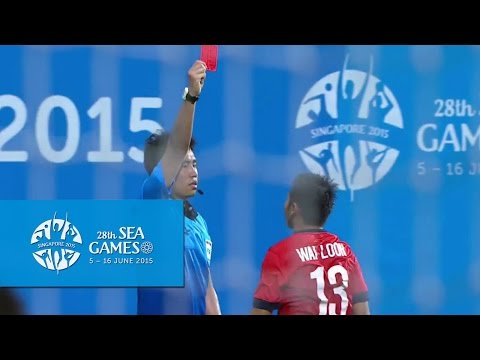 Football (Day 6) Full-Time Highlights Singapore vs Indonesia | 28th SEA Games Singapore 2015