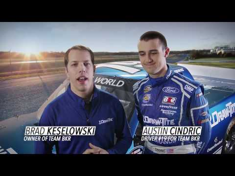 Brad Keselowski Introduces Austin Cindric and the Draw•Tite® Racing Team