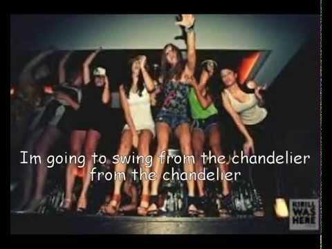 Sia- Chandelier (Lyrics) - music playlist