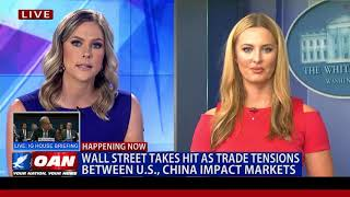 Wall Street Takes a Hit as Trade Tensions Between U.S. & China Impact Markets
