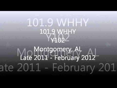 Alabama Rhythmic & CHR Top 40 Aircheck Samples 2011-2012 Part 1