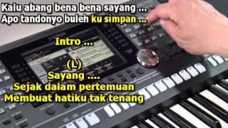Gadis Rimbo Bujang Karaoke Keyboard