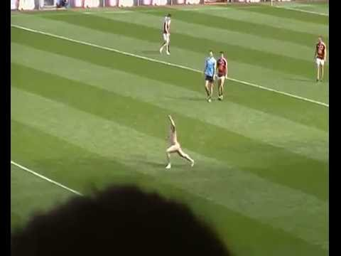 Streaker at the 2016 Leinster Football final