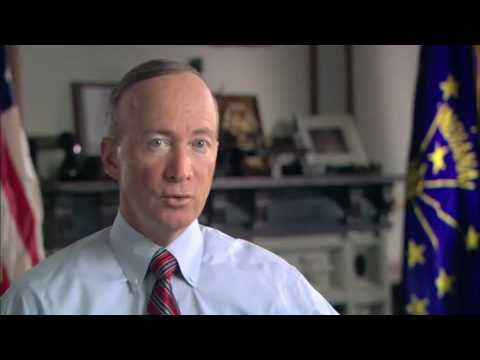 Indiana Gov. Mitch Daniels Delivers Weekly Republican Address On Cap-And-Trade