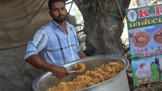 Indian Muslim CHICKEN BIRYANI Prepared for 100 People & STREET FOOD