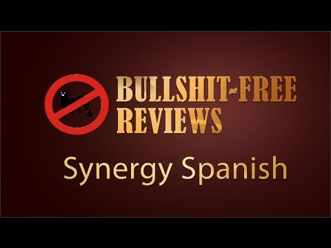BS-Free Synergy Spanish Review - Sick of Scammy Reviews? A Learn Spanish Audio Course For Beginners