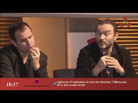 Radio parlée, storytelling et podcast [table ronde] Radio France Ina RFI RMC Scam @ Radio 2.0 2015