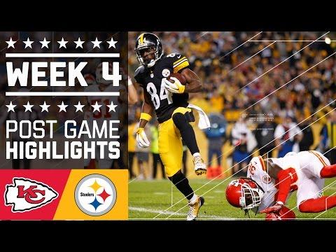 Chiefs Vs Steelers Nfl Week 4 Game Highlights
