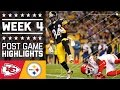 Chiefs vs. Steelers (Week 4) | Post Game Highlights | NFL