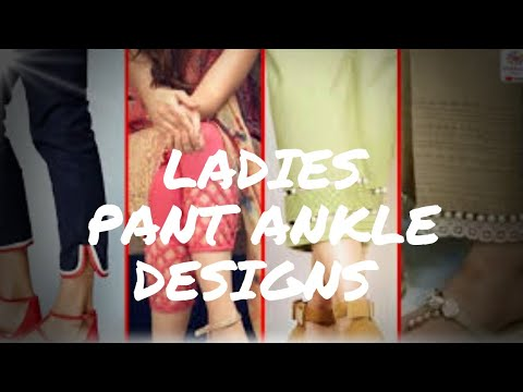 Ladies pant ankle design/pant for office, college, party wear designs #fashion #designs #delhi