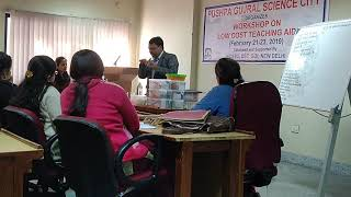 Workshop on low cost teaching aids