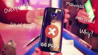 Motorola Moto G6 Plus will Overpriced in India!! Really??😨😭