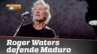 Roger Waters dá com os burros n'água ao defender Nicolás Maduro