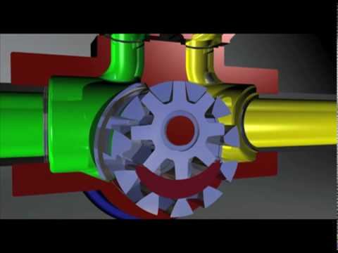 How A Gorman Rupp Rotary Gear Pump Works Youtube