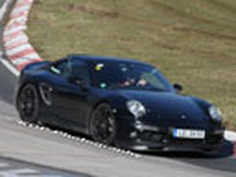 Porsche 911 Prototype Spied at Nurburgring