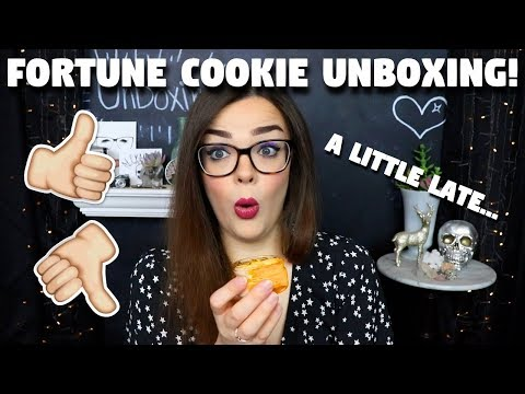 WHOOPS! Fortune Cookie Soap Unboxing...A Month Late! | August Fortune Cookie Soap Box