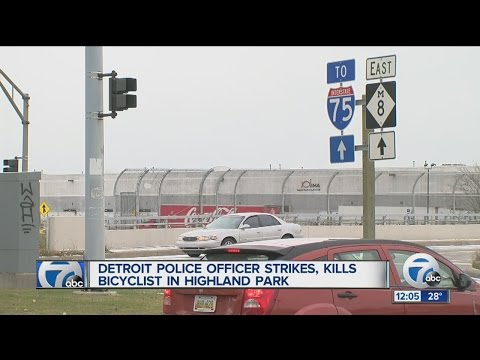 Detroit police officer involved in deadly accident