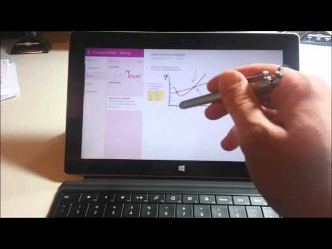 Microsoft Surface Quick Tip: OneNote and Stylus