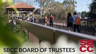SBCC Board of Trustees 12/13/2018